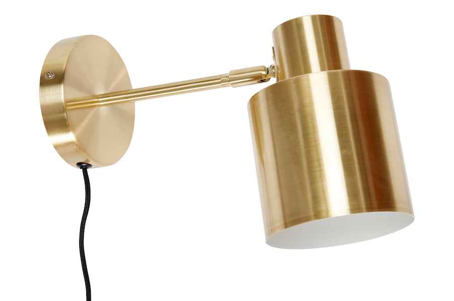 HÜBSCH ONYX BRASS Wall Light, Hübsch- D40Studio
