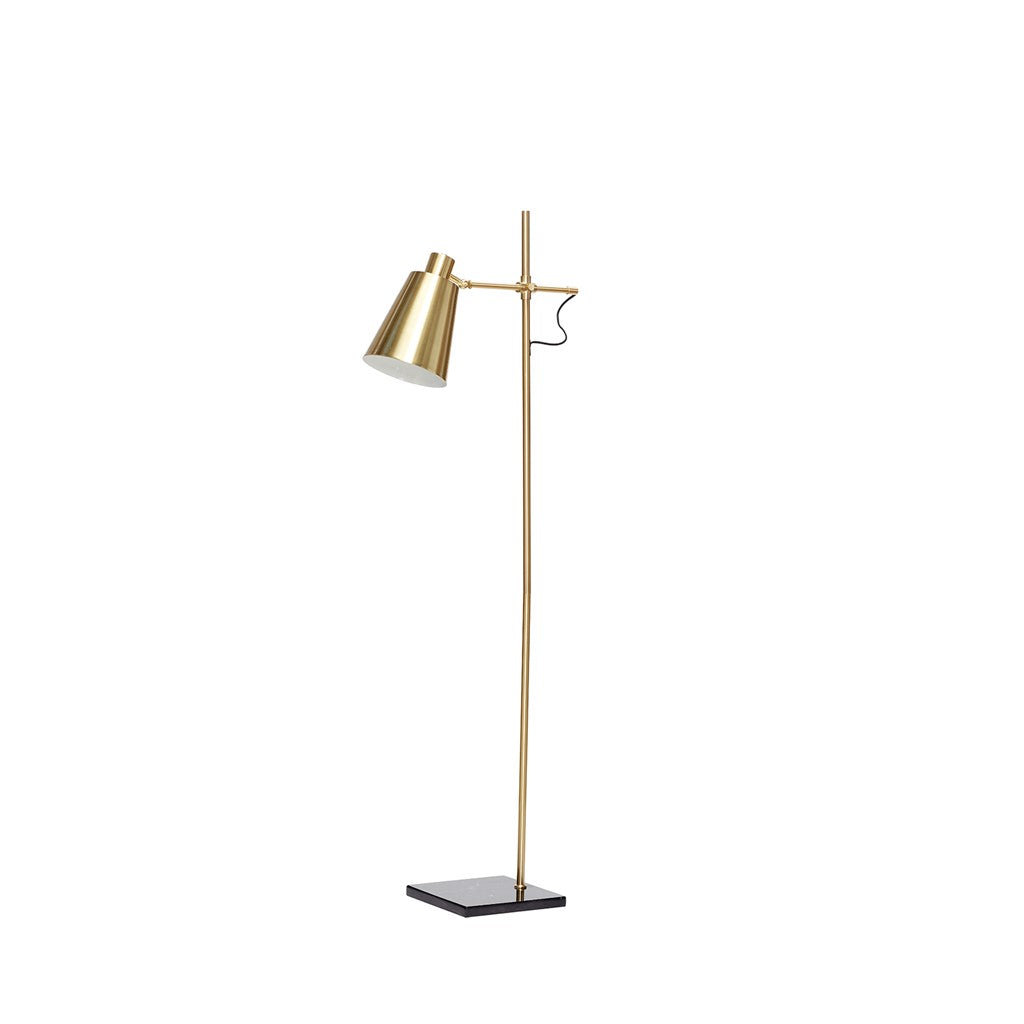 HÜBSCH BRASS New Floor Lamp 164CM, Hübsch- D40Studio