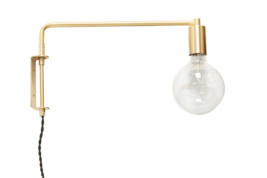 HÜBSCH GOLD Led Wall Light, Hübsch- D40Studio