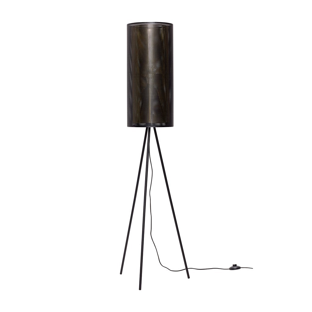 HÜBSCH Metal Floor Lamp 130CM