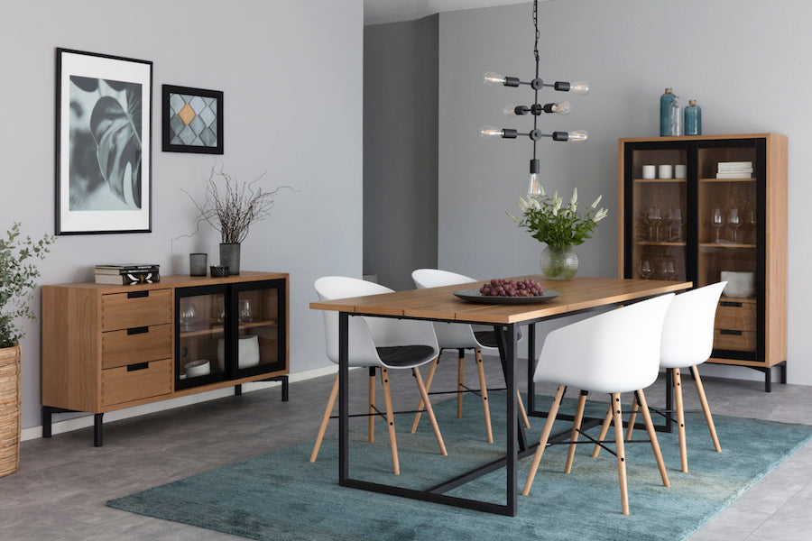 APARTMENT Dining Table 160CM  & 200CM, Interstil- D40Studio
