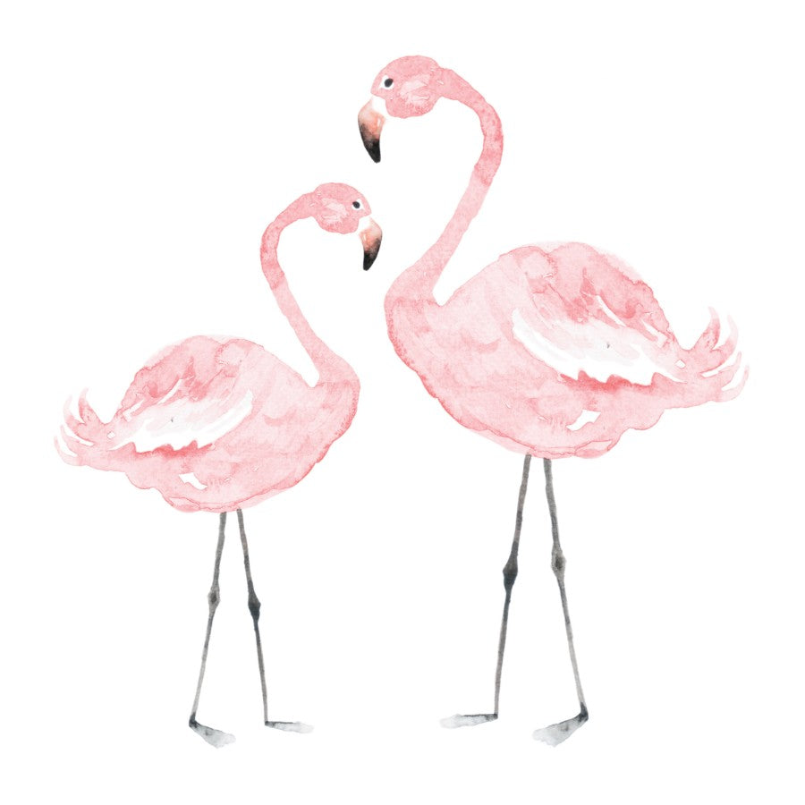 FLAMINGOS Wall Sticker SET