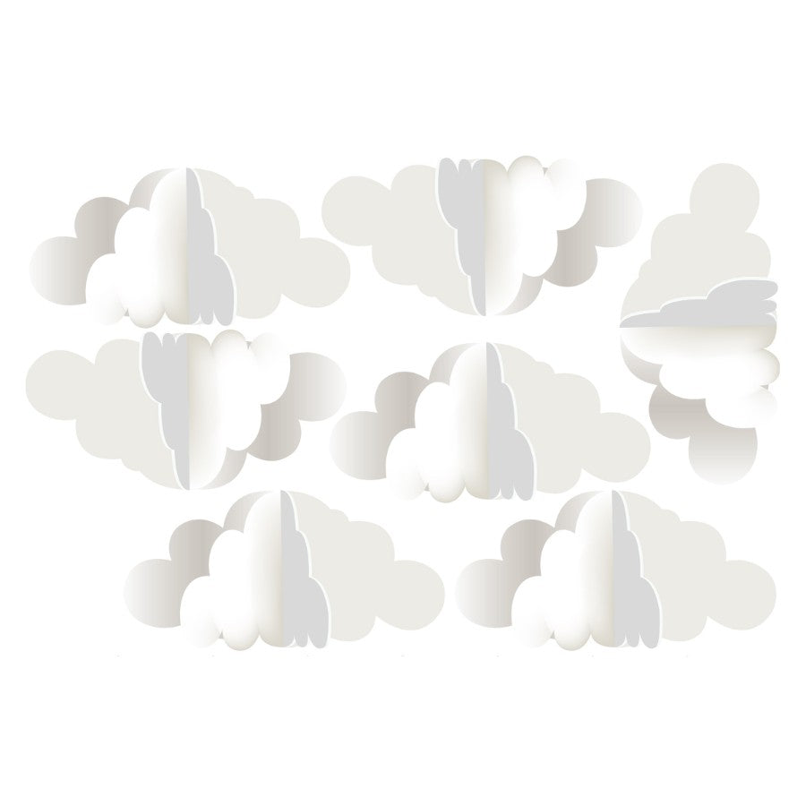 CLOUDS 3D Wall Sticker SET