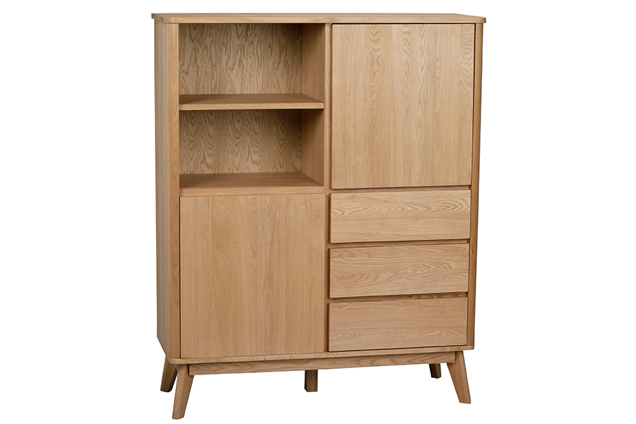 YUMI Highboard, ROWICO- D40Studio