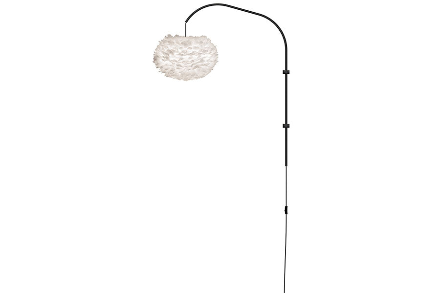 EOS WILLOW WHITE Wall Lamp, UMAGE/VITA Copenhagen- D40Studio