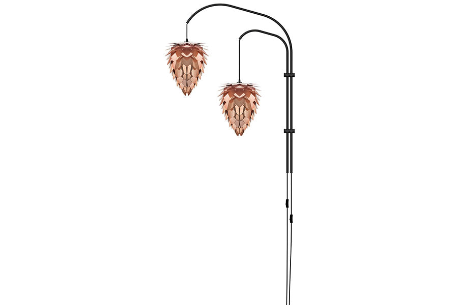 CONIA DOUBLE COPPER Wall Lamp, UMAGE/VITA Copenhagen- D40Studio