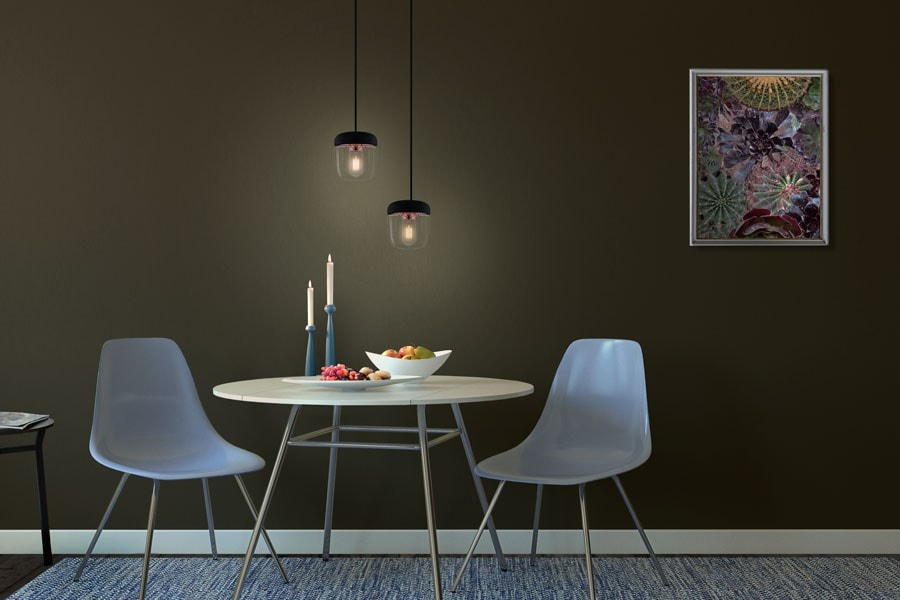 ACORN Black Pendant Light, VITA Copenhagen- D40Studio