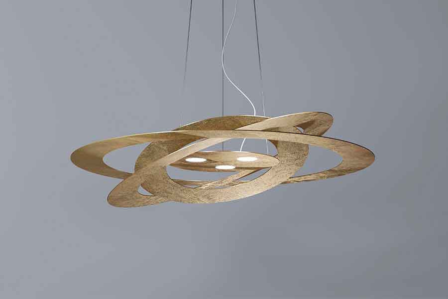 AFELIO Ø60 CM Suspension Lamp Led, Luce Italiana- D40Studio