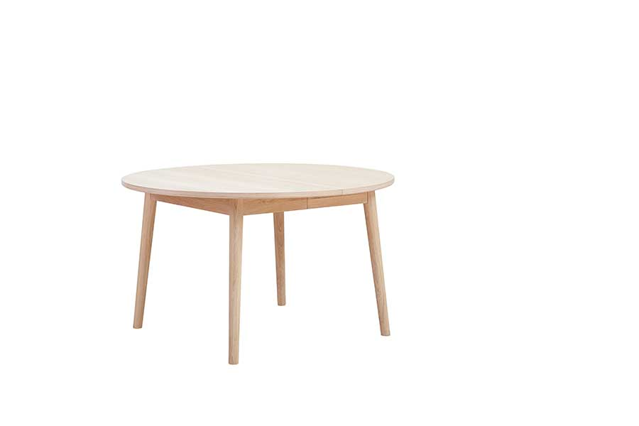 SORØ 120 Round Extending Table, Ø 130/230CM, CASØ- D40Studio