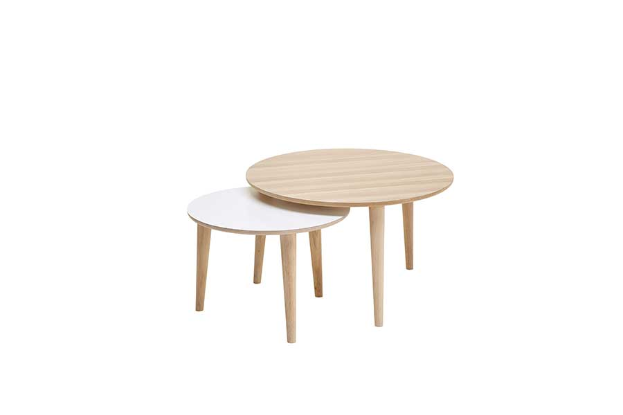 DRAGØR 500 Round Coffee Table, CASØ- D40Studio