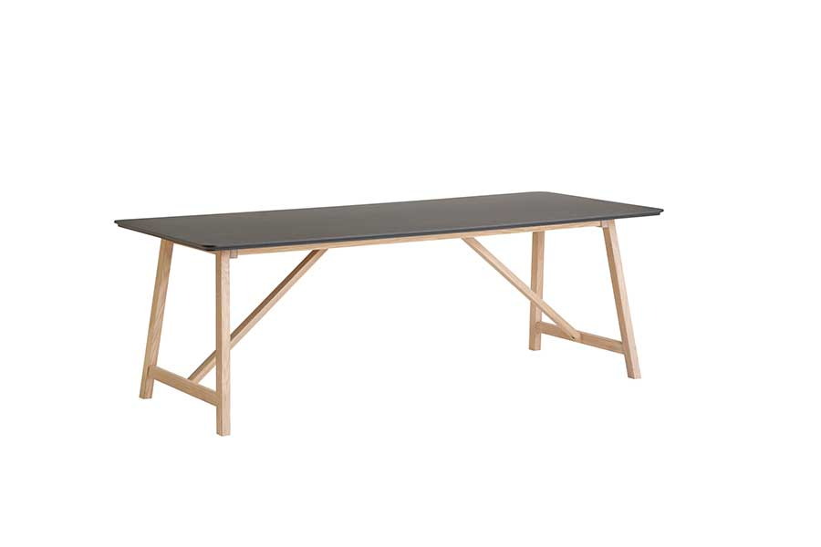 DRAGØR 502 Black Extending Table 180/280 CM, CASØ- D40Studio
