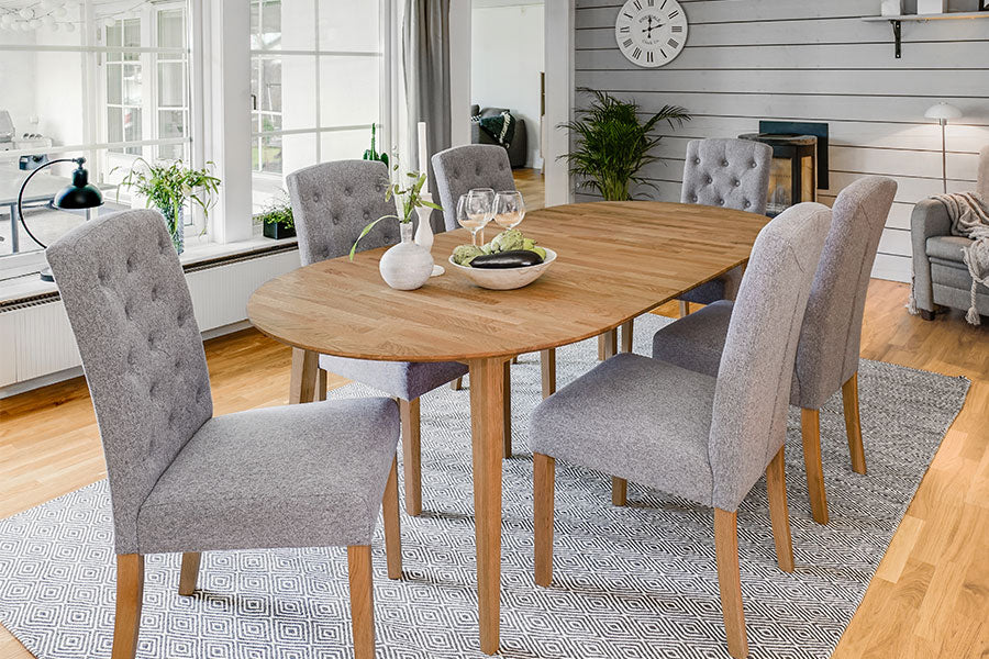FILIPPA Oval Extending Table 170/210/250CM, ROWICO- D40Studio