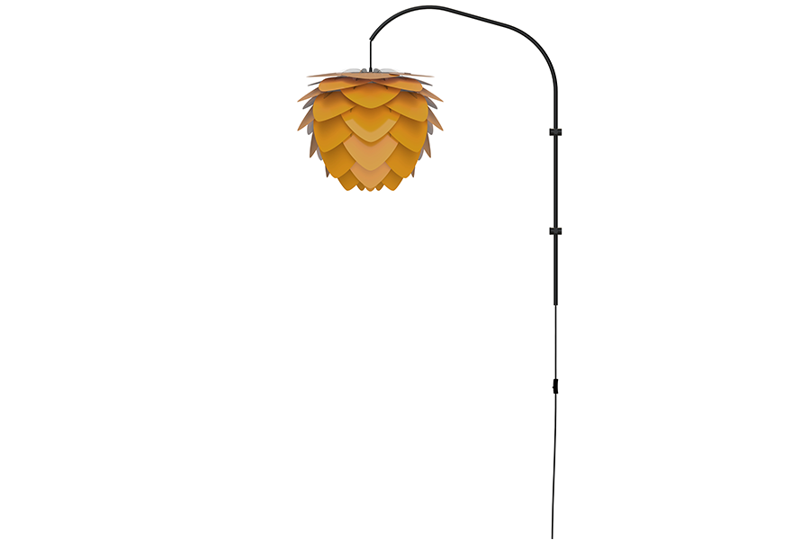ALUVIA WILLOW SAFFRON YELLOW Wall Lamp, UMAGE/VITA Copenhagen- D40Studio
