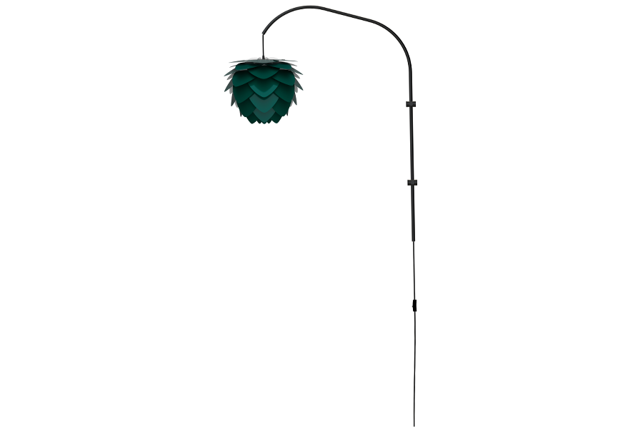 ALUVIA WILLOW FOREST GREEN Wall Lamp, UMAGE/VITA Copenhagen- D40Studio