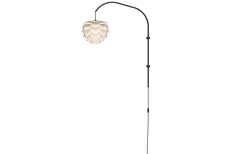 ALUVIA WILLOW PEARL WHITE Wall Lamp, UMAGE/VITA Copenhagen- D40Studio