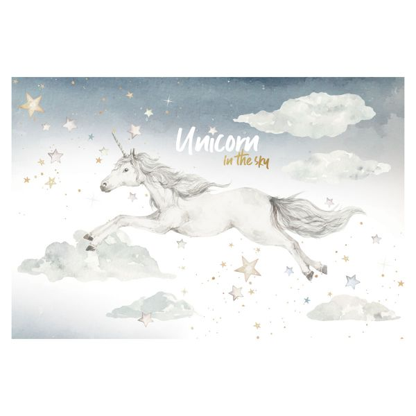 UNICORN IN THE SKY Wall Sticker