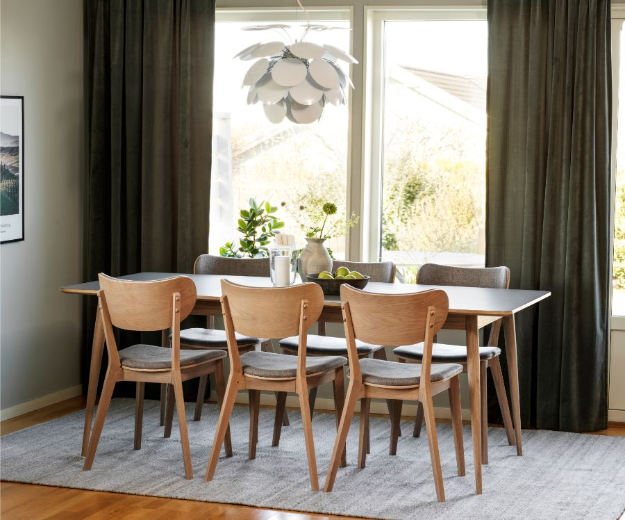 DAWSON Extending Dining Table 200CM/245CM/290CM