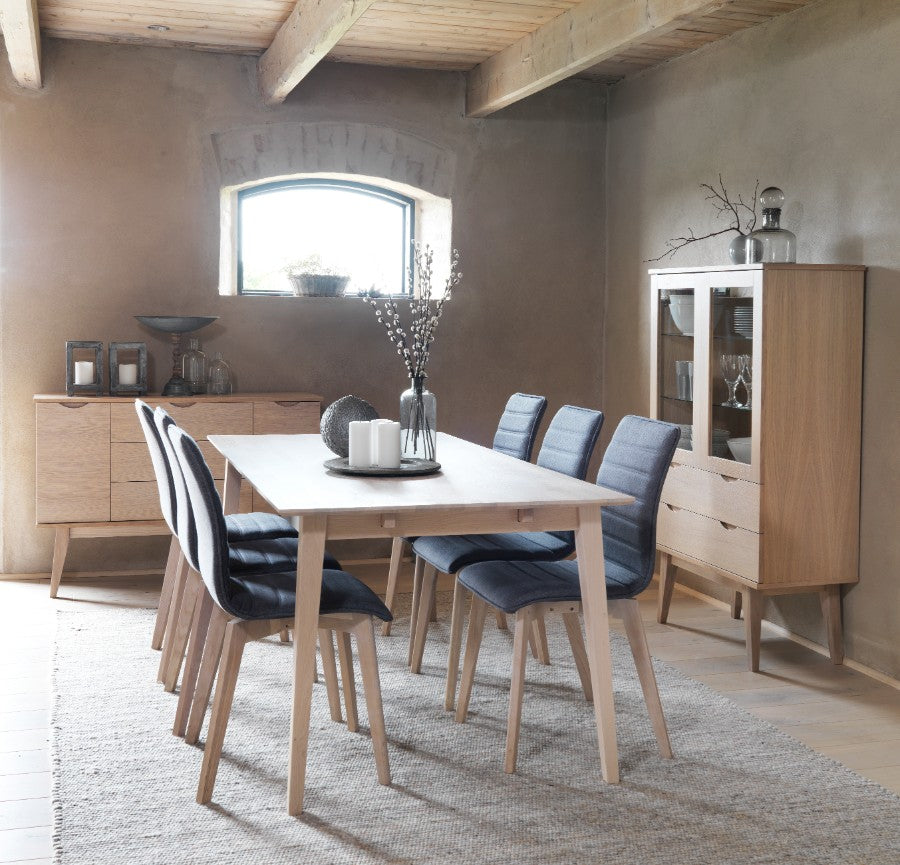 FILIPPA Dining Table 140CM to 240CM, ROWICO- D40Studio