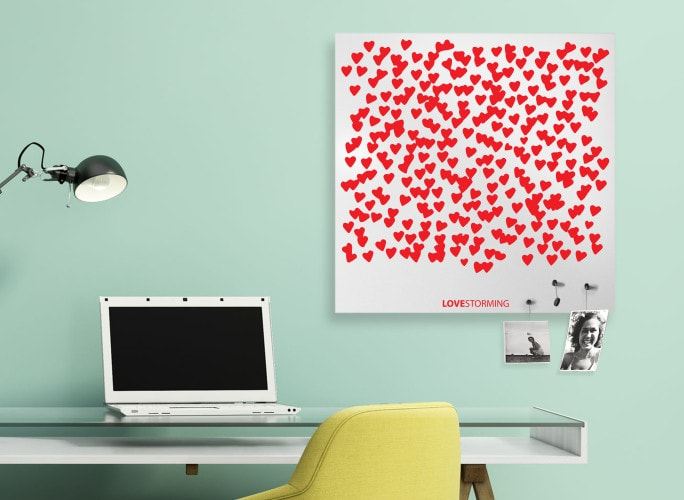 LOVESTORMING Magnetic Board, dESIGNoBJECT- D40Studio