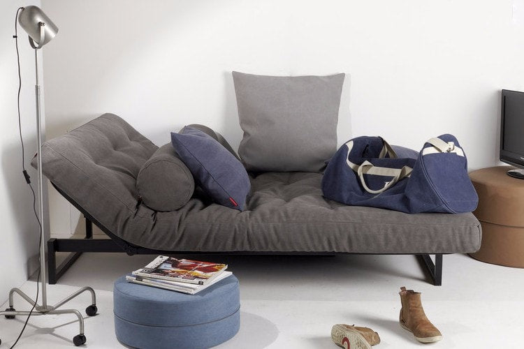 TEEN FRACTION Super Soft Sofa Bed (120 cm), 20 Day Delivery Innovation- D40Studio