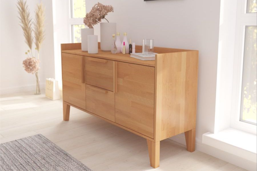 AGAVA Beechwood Chest of Drawers