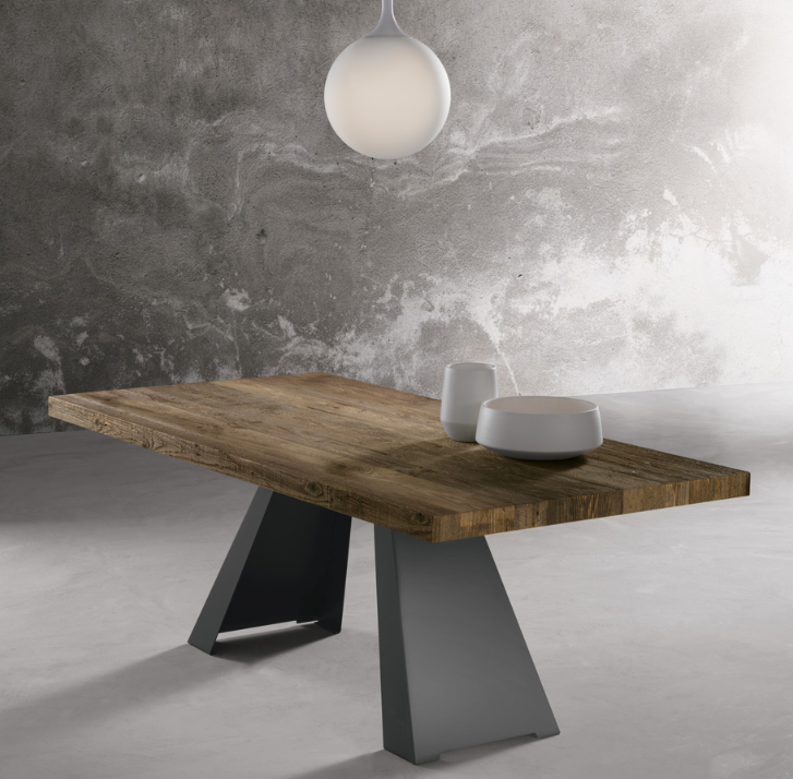 SILVER Solid Wood Dining Table 160CM, 180CM & 200CM