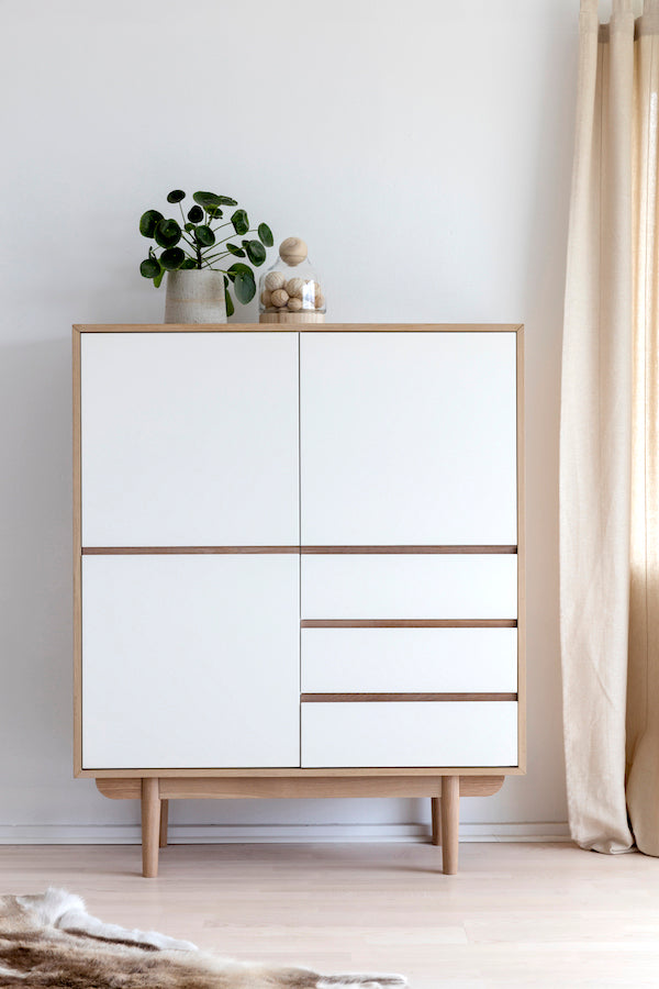SKAGA Chest of Drawers 110CM, Interstil- D40Studio