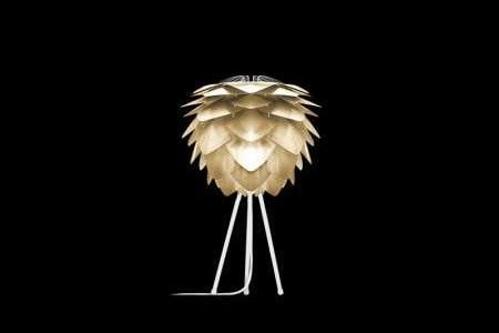 SILVIA Brushed Brass Table Lamp, VITA Copenhagen- D40Studio