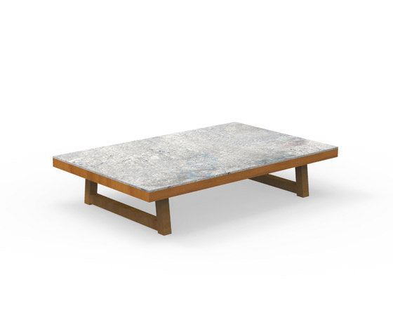 ALABAMA IROKO Outdoor Coffee Table, Talenti- D40Studio
