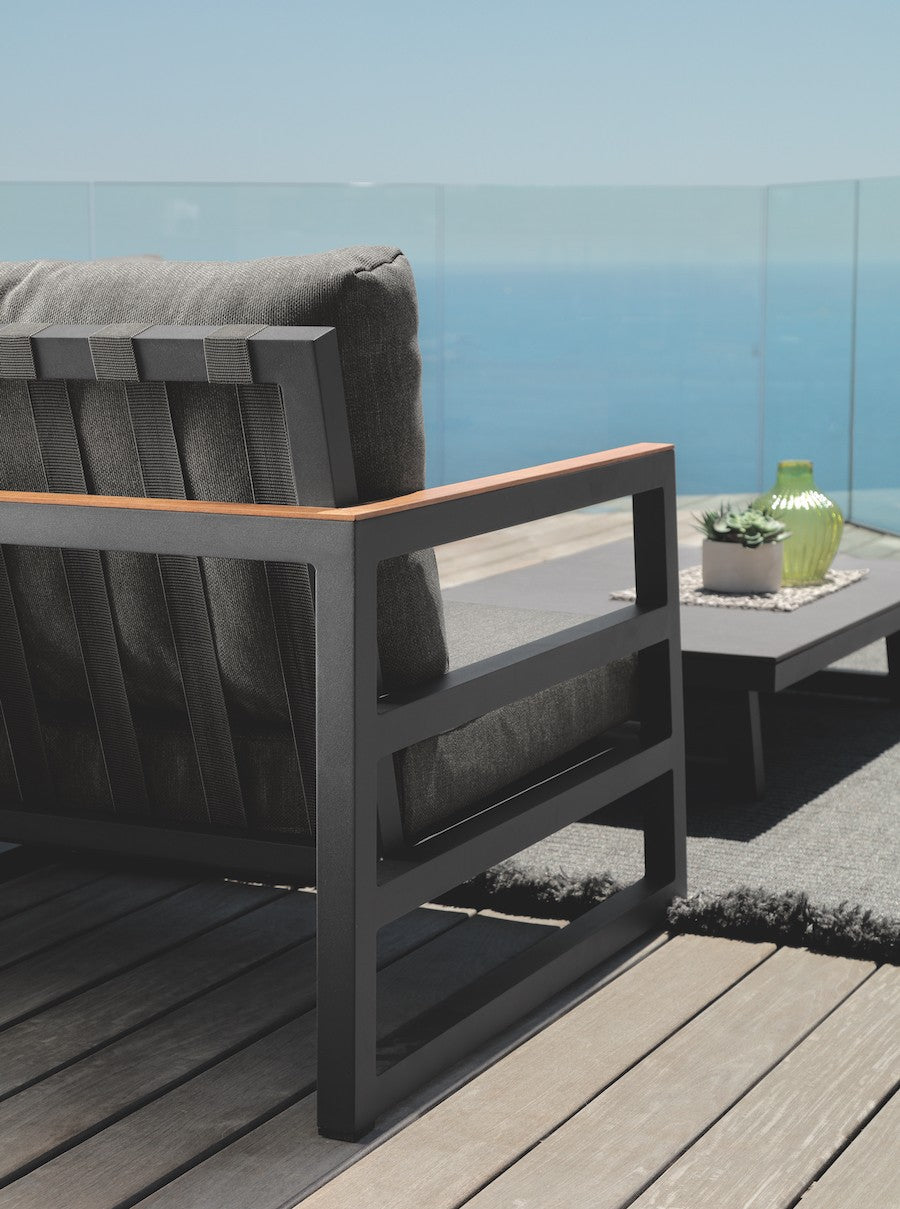 ALABAMA ALU Outdoor Sofa 180CM, Talenti- D40Studio