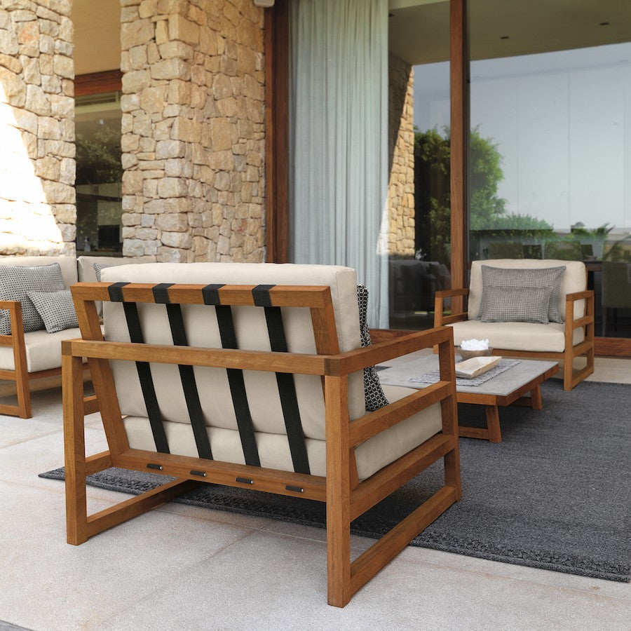 ALABAMA IROKO Outdoor Sofa 180CM, Talenti- D40Studio