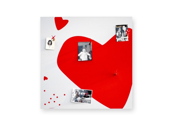 HEART Magnetic Board 50 CM, dESIGNoBJECT- D40Studio