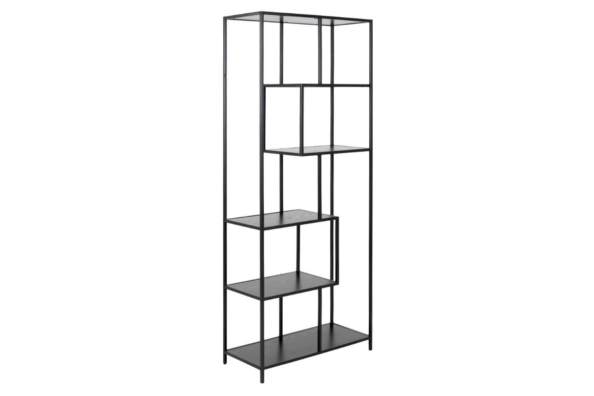FJORD High Black Bookshelf