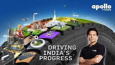 Apollo Tyres new campaign with river Ganga, Sachin Tendulkar and A R Rahman