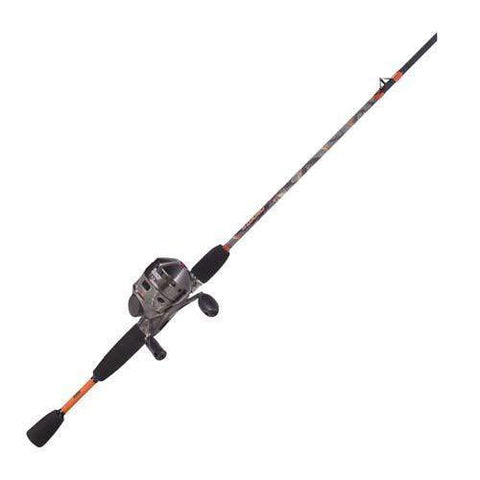 33 Camo 6' 2 Piece Medium Spincast Combo