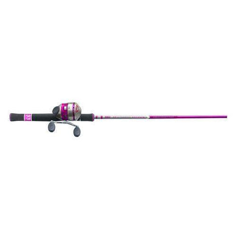 33 Ladies Spincast Combo, 6' 2 Piece Rod, 3.6:1 Gear Ratio, Ambidextrous