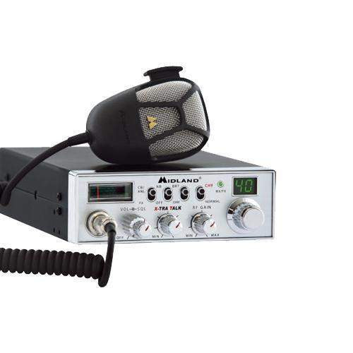 40 Ch Full Feature Mobile CB Radio w-PA