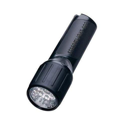 4AA LED - Flashlight Without Batteries, Black (Boxed)