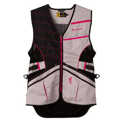 Ace Shooting Vest - Hot Pink, Medium