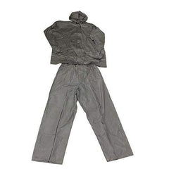 Adult All-Weather Rain Suit - Large, Gray
