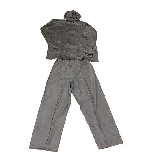 Adult All-Weather Rain Suit - Small, Gray