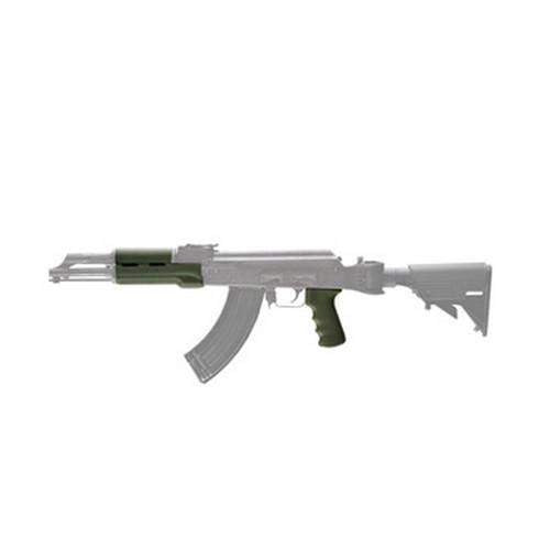 AK-47 Rubber Grip - Standard w-Forend Olive Drab Green