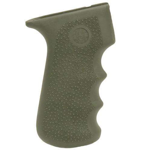 AK-47 Rubber Grip - w-Finger Grooves Olive Drab