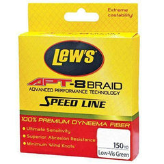 APT-8 Braid Speed Line - 20 lbs, 150 Yards, Low-Vis Green