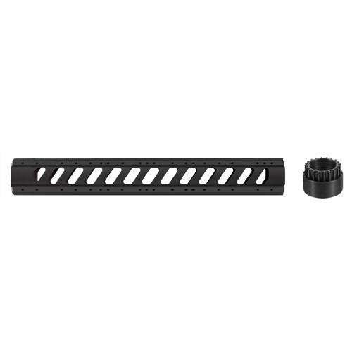 AR-15 Aluminum 6 Side 15 Free Float Forend w-Slotted Barrel Nut