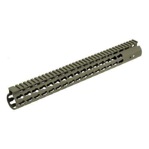 AR15 Super Slim Free Float Handguard - Keymod, 15