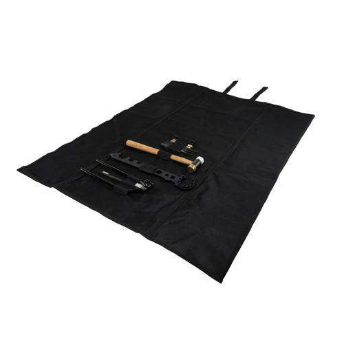 AR15-M4 Gunsmithing Tool Kit - Black Roll-Up Cleaning Mat