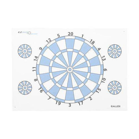 Archery Target - Dartboard Paper Target with Pins