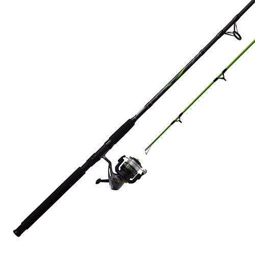 Big Cat Spinning Combo - 5.0:1 Gear Ratio, 9' Length, 2pc Rod, 10-30 lb Line Rate, 1-4-3-4 oz Lure Rate