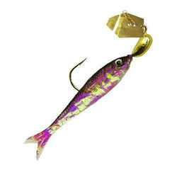 ChatterBait Flashback Mini Lures - 1-8 oz Weight, Gold-Black, Per 1